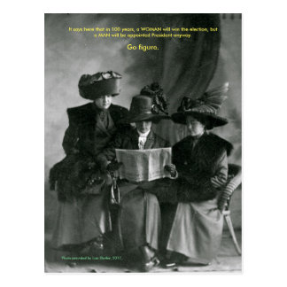 Resistance Ladies Postcard