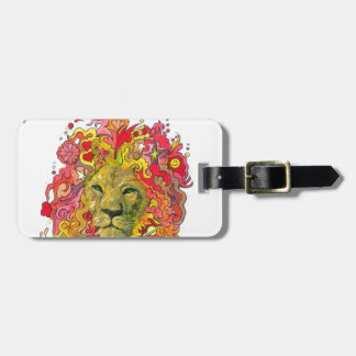 Resistance Lion Luggage Tag