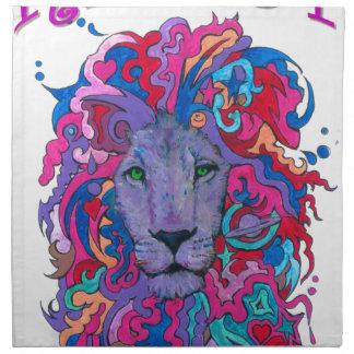 Resistance lion napkin