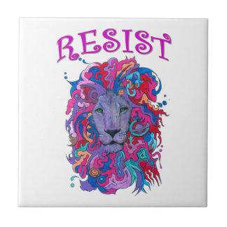 Resistance lion tile