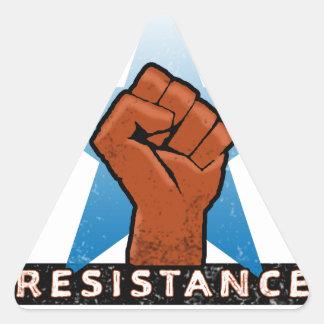resistance triangle sticker