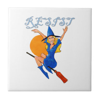 Resistance Witch Ceramic Tile