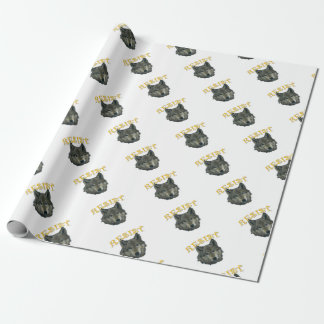 Resistance Wolf Wrapping Paper