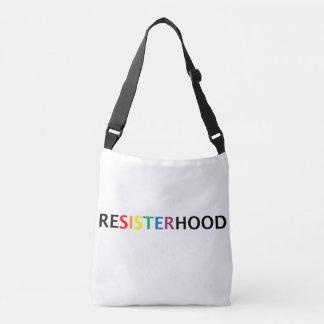 Resisterhood cross-body bag
