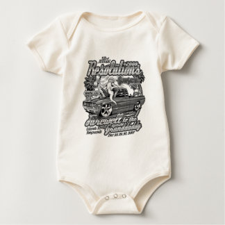 Reso 2008 Black & White Multi Products Baby Bodysuit