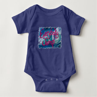 Resolution 2017: Baby Everybody Jump Baby Bodysuit