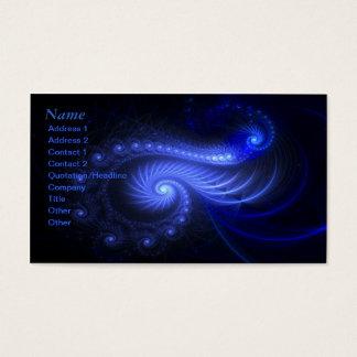 Resonant Spiral - Fractal Art - Business Card