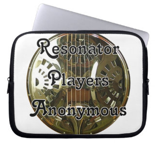 Resonator P layers Anonymous Laptop Sleeve