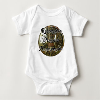 Resonator Players Anonymous Baby Bodysuit