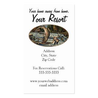 Resort Customize Business Card Templates