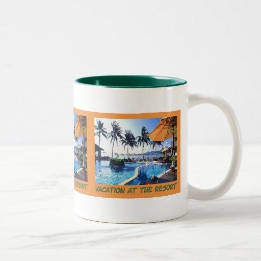 Resort Vacation Mug