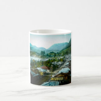 Resort Village of Hakon Lake Ashi in Old Japan Coffee Mug