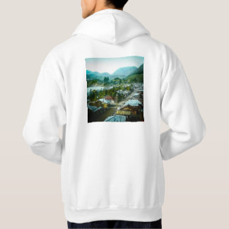 Resort Village of Hakon Lake Ashi in Old Japan Hoodie