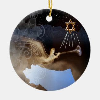 Resounding Victory- Ornament- Jewish Ceramic Ornament