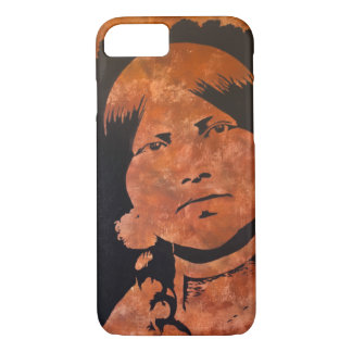 """Respect and Protect"" painting by Lezlie Gentry iPhone 7 Case"