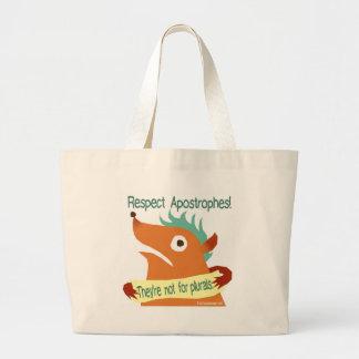 Respect Apostrophes -- bag