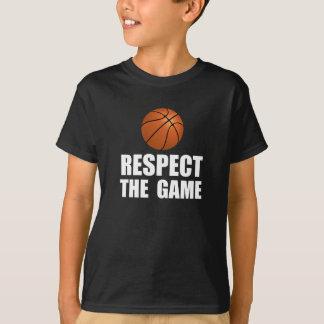 Respect Basketball T-Shirt
