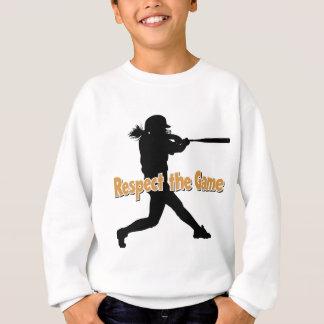 Respect, Batter, gold Sweatshirt