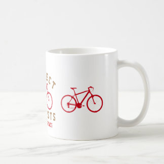 respect bicyclists sport-themed coffee mug