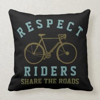 respect bike riders cushions