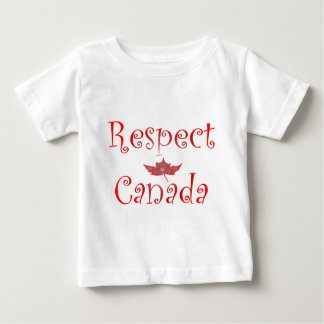 Respect Canada Baby T-Shirt