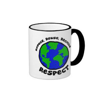 Respect Earth Ringer Mug