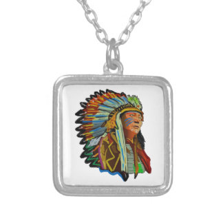 RESPECT FOR NATURE SILVER PLATED NECKLACE