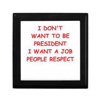 respect small square gift box