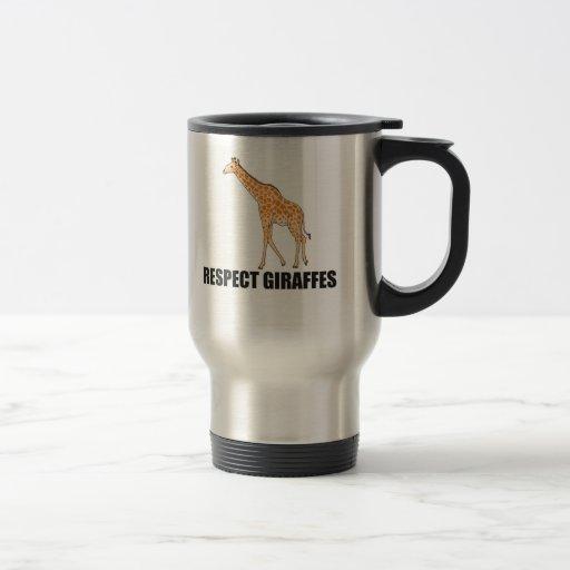 Respect Giraffes Mug