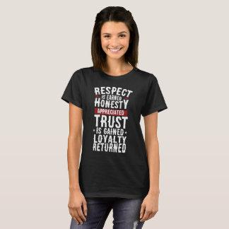 Respect, Honesty, Trust, Loyalty Tee