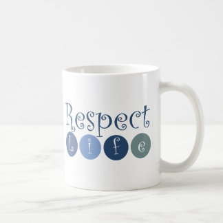 Respect Life Circle Coffee Mug