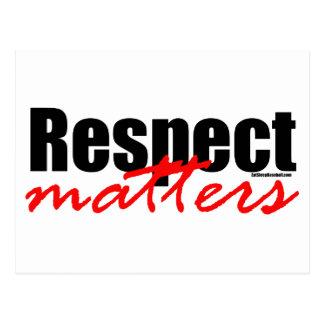 Respect Matters Postcard