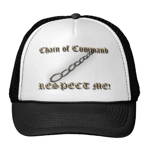 RESPECT ME! Chain of Command Hats