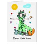 Respect Mother Nature Card