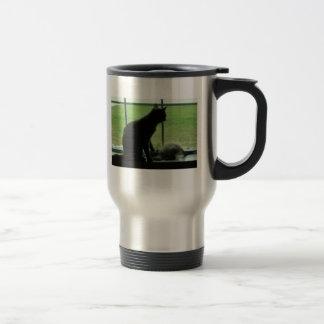 Respect Stainless Steel Travel Mug