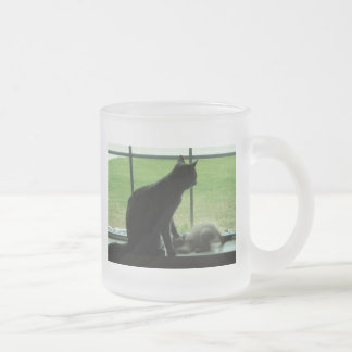 Respect Frosted Glass Mug