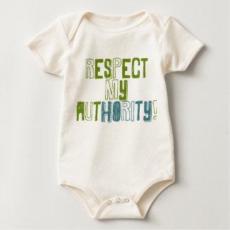 \respect My Auhtority baby Baby Bodysuit