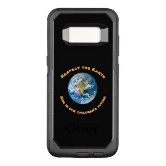 Respect Our Planet Earth OtterBox Galaxy S8 Case