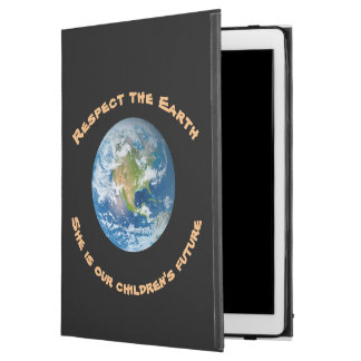 Respect Planet Earth Future iPad Pro Case