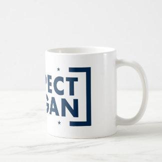 Respect Reagan Classic White Coffee Mug