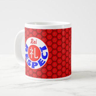 Respect - Rei Large Coffee Mug