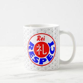 Respect - Rei Basic White Mug