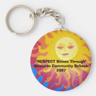 RESPECT Shines Through Key Ring