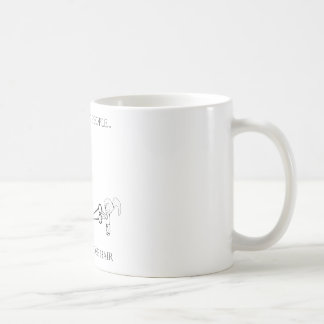 Respect Short People - Trim Your Nose Hair Basic White Mug