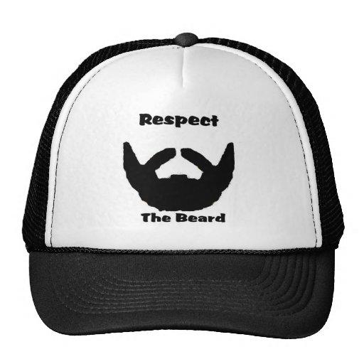 respect the beard hat