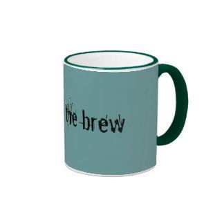Respect the brew mug