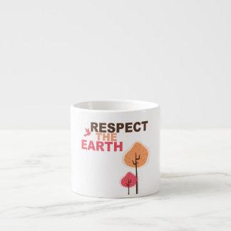 Respect the Earth Espresso Cups