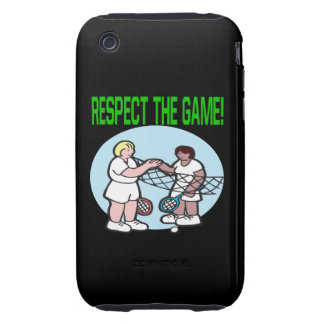 Respect The Game iPhone 3 Tough Cover