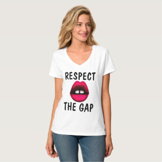 RESPECT THE GAP, Gapped tooth Girl t-shirts
