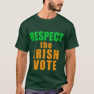 RESPECT THE IRISH VOTE T-Shirt